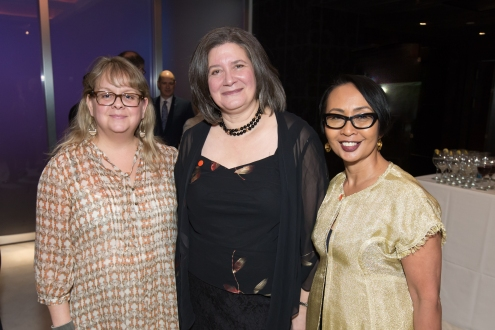 Kathy Sova, Laurie Baskin, Emilya Cachapero