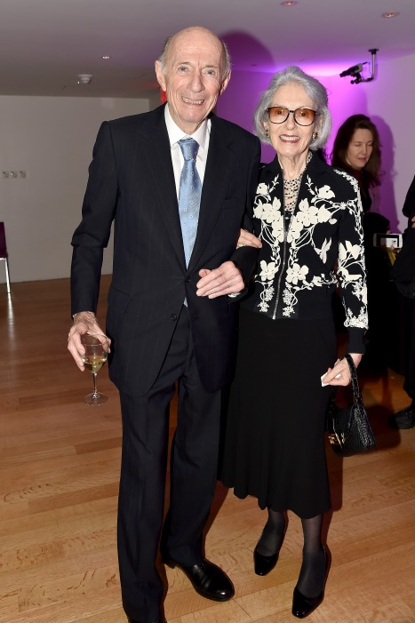"Dr. Donald Tober, Barbara Tober== Barbara Tober hosts a party for ""AVEDON: Something Personal""== Museum of Art and Design, NYC== November 15, 2017== ©Patrick McMullan== photo - Patrick McMullan/PMC== == Dr. Donald Tober; Barbara Tober"