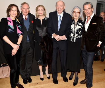 "Friederike Moltmann, Gerald Clarke, Barbara Cates, Dr. Donald Tober, Barbara Tober, Roy Kean== Barbara Tober hosts a party for ""AVEDON: Something Personal""== Museum of Art and Design, NYC== November 15, 2017== ©Patrick McMullan== photo - Patrick McMullan/PMC== == Friederike Moltmann; Gerald Clarke; Barbara Cates; Dr. Donald Tober; Barbara Tober; Roy Kean"