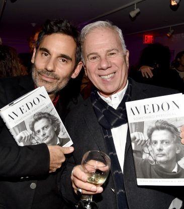 "James Kaliardos, Sam Shahid== Barbara Tober hosts a party for ""AVEDON: Something Personal""== Museum of Art and Design, NYC== November 15, 2017== ©Patrick McMullan== photo - Patrick McMullan/PMC== == James Kaliardos; Sam Shahid"
