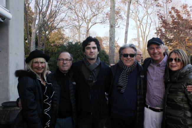 Lukie Bernstein, Steve Perlbinder, grandson, Lee Skolnick, Peter Olsen, Sandy Perlbinder