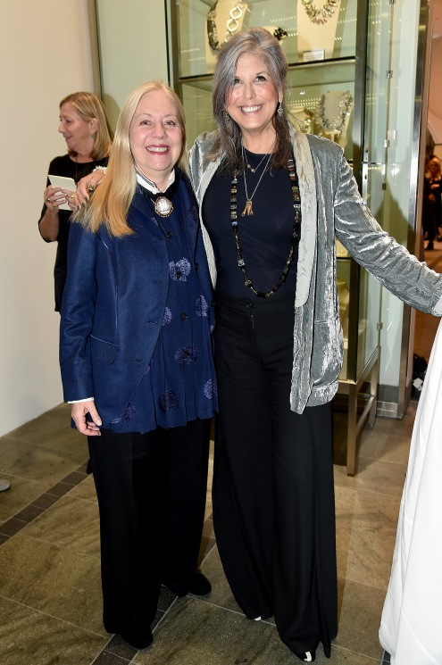 "?, Joan Hornig== Barbara Tober hosts a party for ""AVEDON: Something Personal""== Museum of Art and Design, NYC== November 15, 2017== ©Patrick McMullan== photo - Patrick McMullan/PMC== == Joan Hornig"