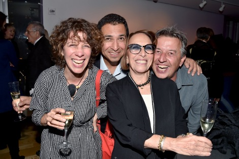 "Molly Stevens, Dan Bustillos, Norma Stevens, Mark Peeters== Barbara Tober hosts a party for ""AVEDON: Something Personal""== Museum of Art and Design, NYC== November 15, 2017== ©Patrick McMullan== photo - Patrick McMullan/PMC== == Molly Stevens; Dan Bustillos; Norma Stevens; Mark Peeters"