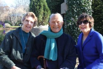 Nancy Geidel, Jack Larsen, Mary Busch