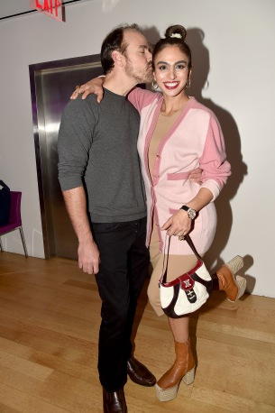 "Nicholas Loeffler, Shari Loeffler== Barbara Tober hosts a party for ""AVEDON: Something Personal""== Museum of Art and Design, NYC== November 15, 2017== ©Patrick McMullan== photo - Patrick McMullan/PMC== == Nicholas Loeffler; Shari Loeffler"