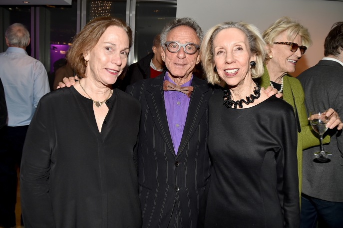 "Pam Maffei McCarthy, Steven M.L. Aronson, Suzanne Stephenson== Barbara Tober hosts a party for ""AVEDON: Something Personal""== Museum of Art and Design, NYC== November 15, 2017== ©Patrick McMullan== photo - Patrick McMullan/PMC== == Pam Maffei McCarthy; Steven M.L. Aronson; Suzanne Stephenson"