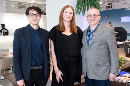Samuel Medina, Jennifer Gray and Stuart Graff