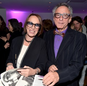 "Norma Stevens, Steven M.L. Aronson== Barbara Tober hosts a party for ""AVEDON: Something Personal""== Museum of Art and Design, NYC== November 15, 2017== ©Patrick McMullan== photo - Patrick McMullan/PMC== == Norma Stevens; Steven M.L. Aronson"