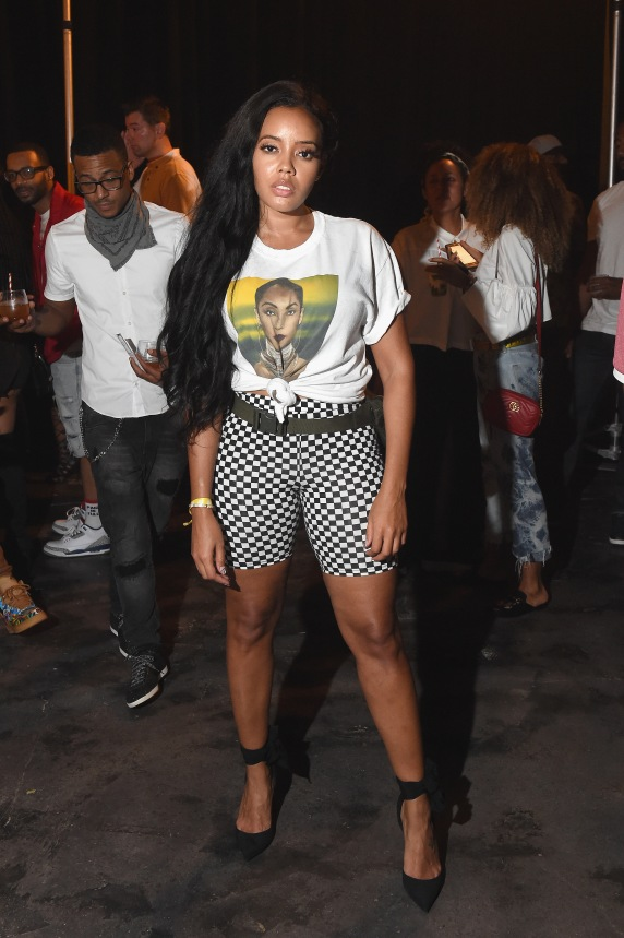 "MIAMI, FL - DECEMBER 08: Angela Simmons attends BACARDI, Swizz Beatz and The Dean Collection bring NO COMMISSION back to Miami to celebrate ""Island Might"" at Soho Studios on December 8, 2017 in Miami, Florida. (Photo by Nicholas Hunt/Getty Images for BACARDI)"
