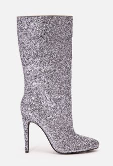 JustFab's Shayleigh Heeled Boot is the perfect shoe to spice up any New Years outfit! Available from www.justfab.com for $42.95