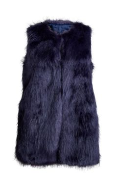 Long Faux Fur Vest from JustFab. A longline faux fur vest that's perfect for taking a casual look up a notch with a trendy punch! Available at www.justfab.com for $70.95