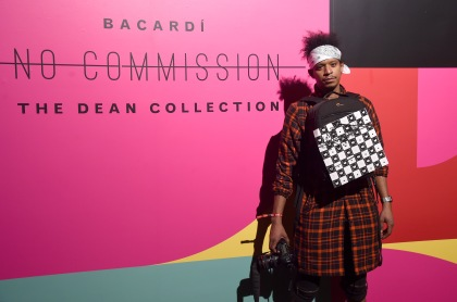 "MIAMI, FL - DECEMBER 09: Roble Ali attends BACARDI, Swizz Beatz and The Dean Collection bring NO COMMISSION back to Miami to celebrate ""Island Might"" at Soho Studios on December 9, 2017 in Miami, Florida. (Photo by Jamie McCarthy/Getty Images for BACARDI)"