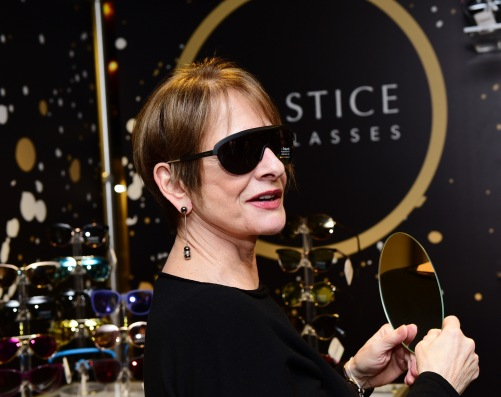 Singer Patti LuPone attends the GRAMMY Gift Lounge during the 60th Annual GRAMMY Awards at Madison Square Garden