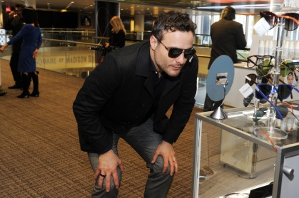 Actor Dominic Fumusa attends the GRAMMY Gift Lounge during the 60th Annual GRAMMY Awards at Madison Square Garden