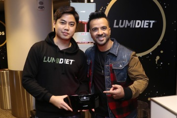 Singer-songwriter Luis Fonsi attends the GRAMMY Gift Lounge during the 60th Annual GRAMMY Awards at Madison Square Garden