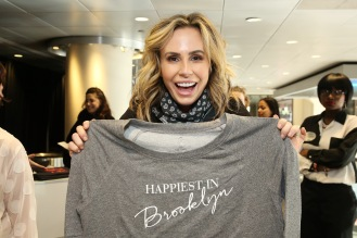 TV personality Keltie Knight attends the GRAMMY Gift Lounge during the 60th Annual GRAMMY Awards at Madison Square Garden