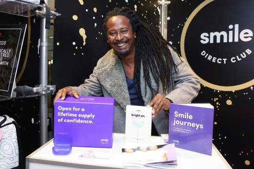 Rapper Allen Forrest attends the GRAMMY Gift Lounge during the 60th Annual GRAMMY Awards at Madison Square Garden