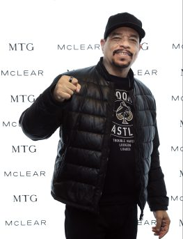 Rapper/musician Ice-T of musical group Body Count attends the GRAMMY Gift Lounge during the 60th Annual GRAMMY Awards at Madison Square Garden
