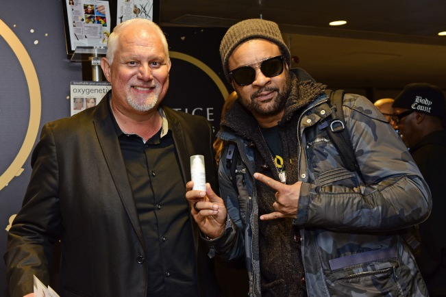 Musician Shaggy attends the GRAMMY Gift Lounge during the 60th Annual GRAMMY Awards at Madison Square Garden
