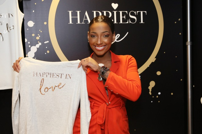 Singer-songwriter LeA Robinson attends the GRAMMY Gift Lounge during the 60th Annual GRAMMY Awards at Madison Square Garden
