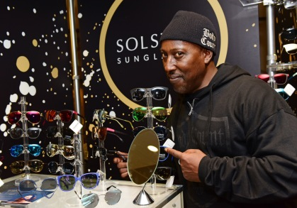 Musician Sean E Sean of musical group Body Count attends the GRAMMY Gift Lounge during the 60th Annual GRAMMY Awards at Madison Square Garden
