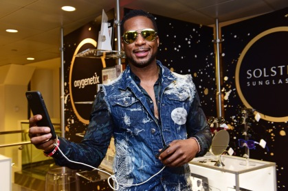 Musician Robert Randolph attends the GRAMMY Gift Lounge during the 60th Annual GRAMMY Awards at Madison Square Garden