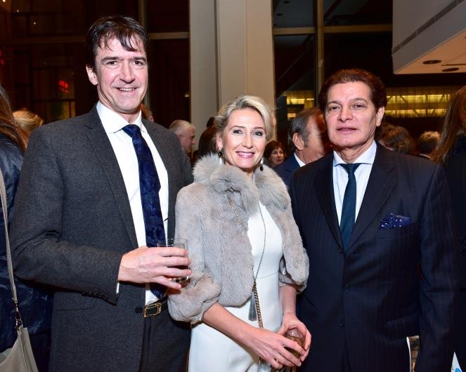 Ambassador Kai Sauer, Erika Sauer, Edgar Batista
