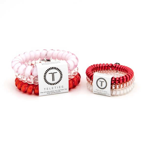 TELETIES Hair Bands, All You Need Is Love Valentine's Day 3 Pack from www.Teleties.com