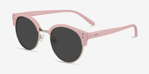 Samba Pink Sunglasses from EyeBuyDirect - www.eyebuydirect.com