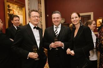 Amb. Wolfgang Waldner, Daniel Froschauer, and Mrs. Gudrun