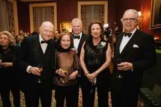 Bill Bernhard, Katherine Manisco, Encarnita and Robert Quilan, and Bill Forster