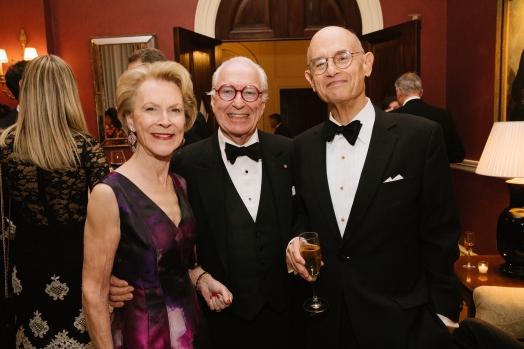 Elizabeth Stribling, Guy Robinson, and Bill Nitze