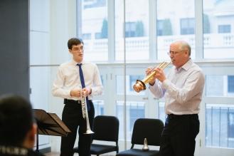 VPS Master Classes James Vaughn, Peter Schuh at Carnegie Hall