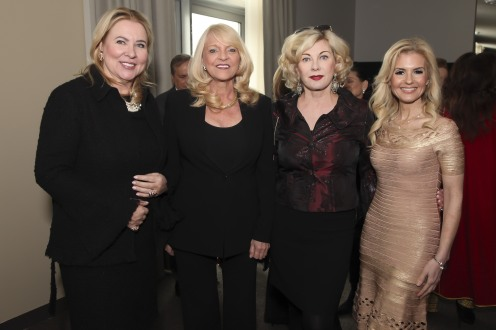 Irena Mclean Laks, Margo Catsimatidis, Paola Bacchini and Melissa Kassis attend the UNWFPA Annual Awards Luncheon in Celebration of International Women's Day on March 8, 2018 in New York City. (Photo by Amber De Vos/Patrick McMullan via Getty Images)