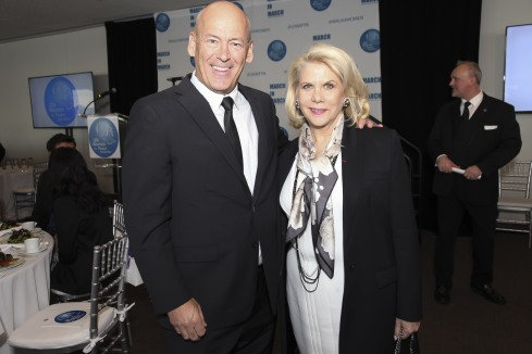 NEW YORK, NY - MARCH 08: Dave Batstone and Francine Lefrak attend the UNWFPA Annual Awards Luncheon in Celebration of International Women's Day on March 8, 2018 in New York City. (Photo by Amber De Vos/Patrick McMullan via Getty Images)