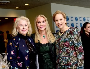 NEW YORK, NY - MARCH 08: Sheikha Paula Al-Sabah, Barbara Winston and H.H. Princess Lalla Joumala Alaoui Pose at the UNWFPA Annual Awards Luncheon on March 8, 2018 in New York City. (Photo by Aurora Rose/Patrick McMullan via Getty Images)