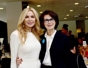 NEW YORK, NY - MARCH 08: Sheikha Rima Al-Sabah and Dale Haddon Pose at the UNWFPA Annual Awards Luncheon on March 8, 2018 in New York City. (Photo by Aurora Rose/Patrick McMullan via Getty Images)