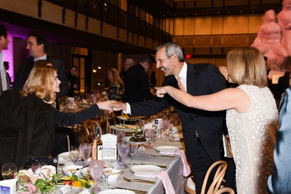 Ashley Olsen, John Molner, Katie Couric== YAGP Stars of Today Meet The Stars of Tomorrow 2018 Gala== David Koch Theatre at Lincoln Center, New York, NY== April 19, 2018== ©Patrick McMullan== Photo - Presley Ann/PMC== ==