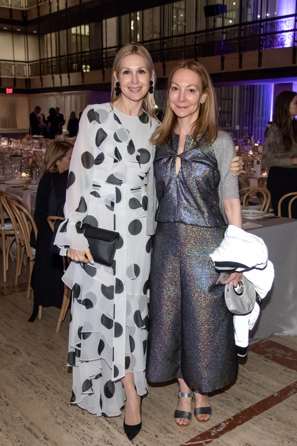 Kelly Rutherford, Jennifer Chaitman by Annie Watt
