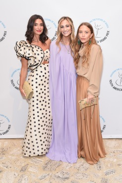 Candice Miller, Marcella Guarino Hymowitz, Mary-Kate Olsen== YAGP Stars of Today Meet The Stars of Tomorrow 2018 Gala== David Koch Theatre at Lincoln Center, New York, NY== April 19, 2018== ©Patrick McMullan== Photo - Presley Ann/PMC== ==