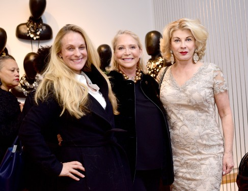 Consuelo Vanderbilt Costin, Suzan Kremer, Paola Bacchini - Photo - Aurora Rose/PMC