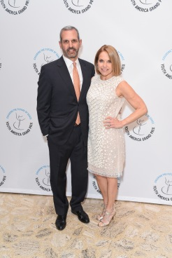John Molner, Katie Couric== YAGP Stars of Today Meet The Stars of Tomorrow 2018 Gala== David Koch Theatre at Lincoln Center, New York, NY== April 19, 2018== ©Patrick McMullan== Photo - Presley Ann/PMC== ==