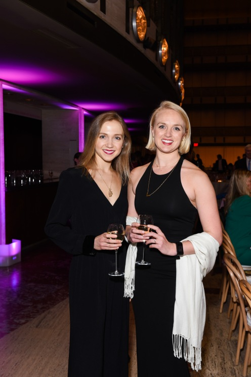 Katie Williams, Abbie Williams== YAGP Stars of Today Meet The Stars of Tomorrow 2018 Gala== David Koch Theatre at Lincoln Center, New York, NY== April 19, 2018== ©Patrick McMullan== Photo - Presley Ann/PMC== ==