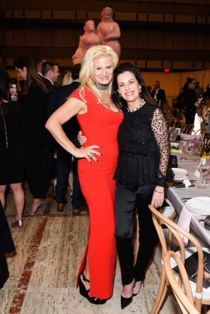 Margo Manhattan, Susan Gluck Pappajohn== YAGP Stars of Today Meet The Stars of Tomorrow 2018 Gala== David Koch Theatre at Lincoln Center, New York, NY== April 19, 2018== ©Patrick McMullan== Photo - Presley Ann/PMC== ==