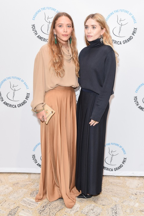 Mary-Kate Olsen, Ashley Olsen==YAGP Stars of Today Meet The Stars of Tomorrow 2018 Gala==David Koch Theatre at Lincoln Center, New York, NY==April 19, 2018==©Patrick McMullan==Photo - Presley Ann/PMC