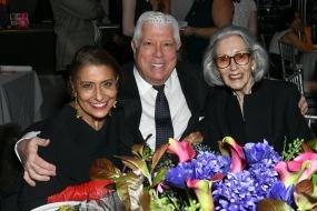 Muna Rihani Al-Nasser, Dennis Basso, Barbara Tober - Photo - Aurora Rose/PMC
