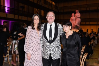 Suzanne Hall, Andrew Martin-Weber, Judith M. Hoffman==YAGP Stars of Today Meet The Stars of Tomorrow 2018 Gala==David Koch Theatre at Lincoln Center, New York, NY==April 19, 2018==©Patrick McMullan==Photo - Presley Ann/PMC====