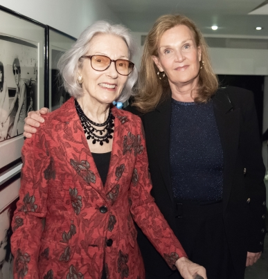 Barbara Tober, Evelyn Lorentzen Bell (photo by Annie Watt Agency / Sipa USA)
