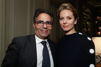 Benny Tabatabai and Nina Lazaridi
