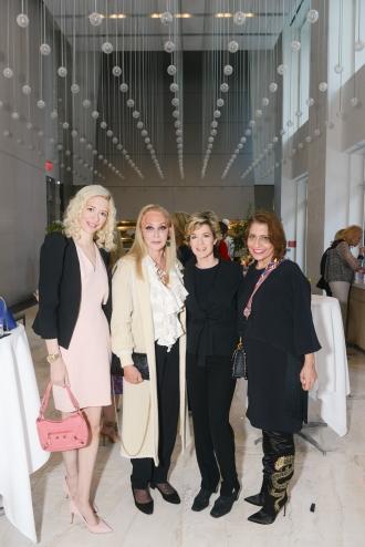 Melissa Vale, Barbara Winston, Alix Strauss, Muna Rihani Al-Nasser